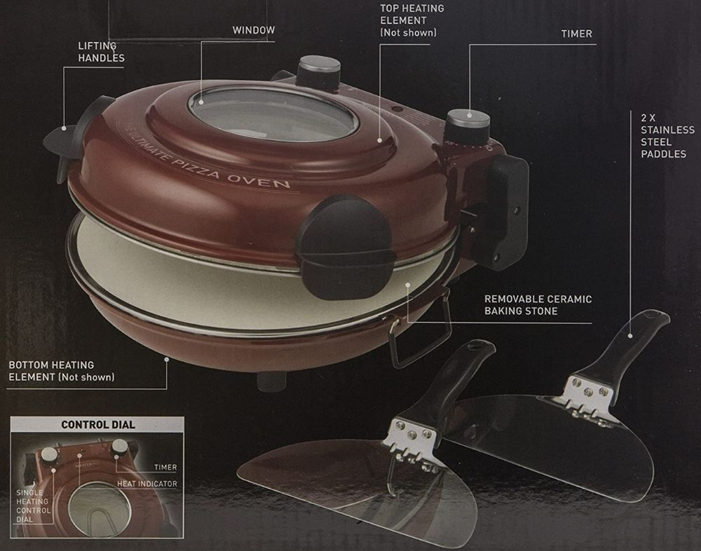 home electric pizza maker oven